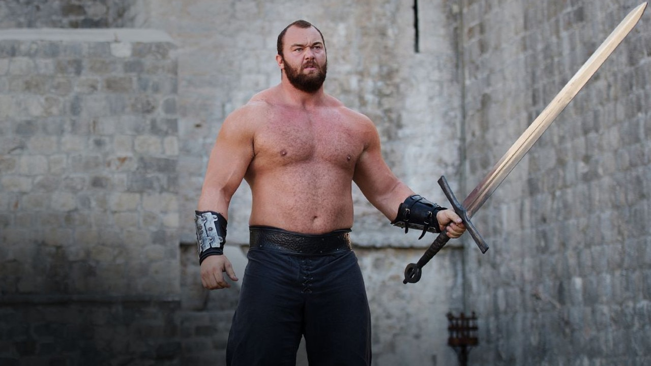 Hafthor Bjornsson as The Mountain in Game of Thrones. Picture: supplied