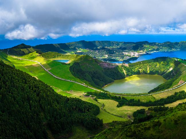 10. AZORES, PORTUGAL Considered the Hawaii of the mid-Atlantic, adventure awaits you in the Azores. Aside from housing two of Portugal's 15 UNESCO World Heritage sites — the vineyards of Pico and the old town of Angra do Heroismo on Terceira — this remote archipelago is home to excellent surf breaks, vivid crater lakes and world-class whale watching areas.   WHY I FELL IN LOVE WITH THE AZORES