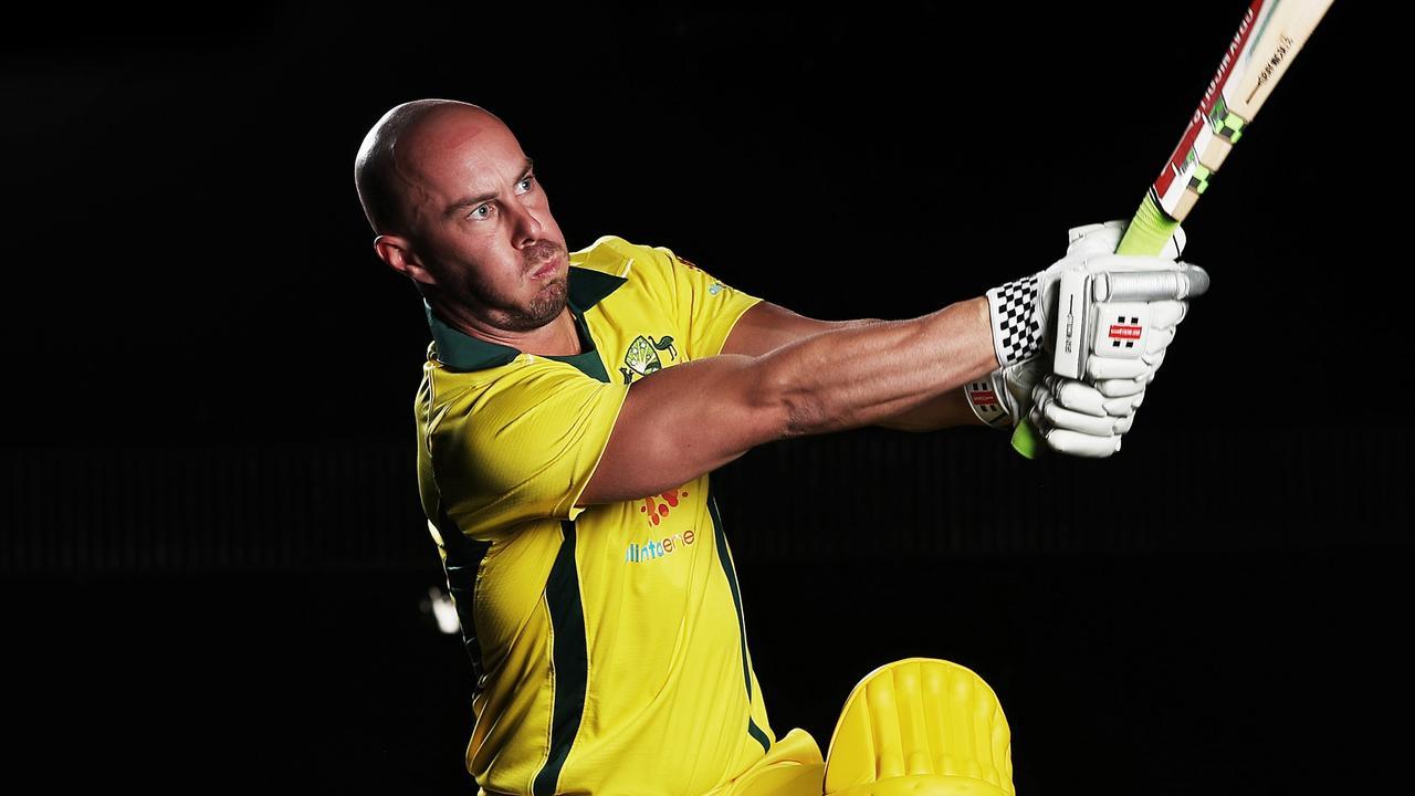 Australian cricketer Chris Lynn. Picture: Phil Hillyard.