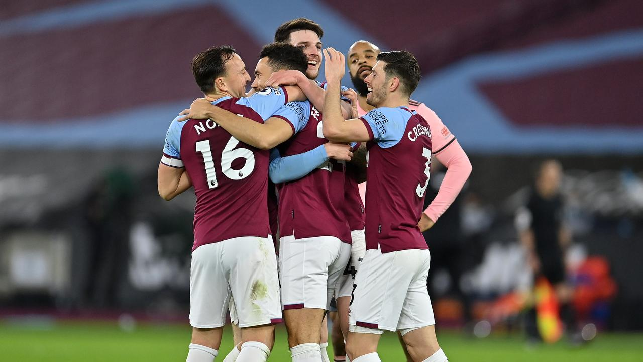 West Ham beat Sheffield United. (Photo by Justin Setterfield/Getty Images)
