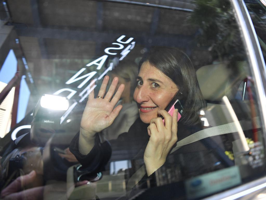 Ms Berejiklian on Friday. Picture: AAP Image/Dean Lewins