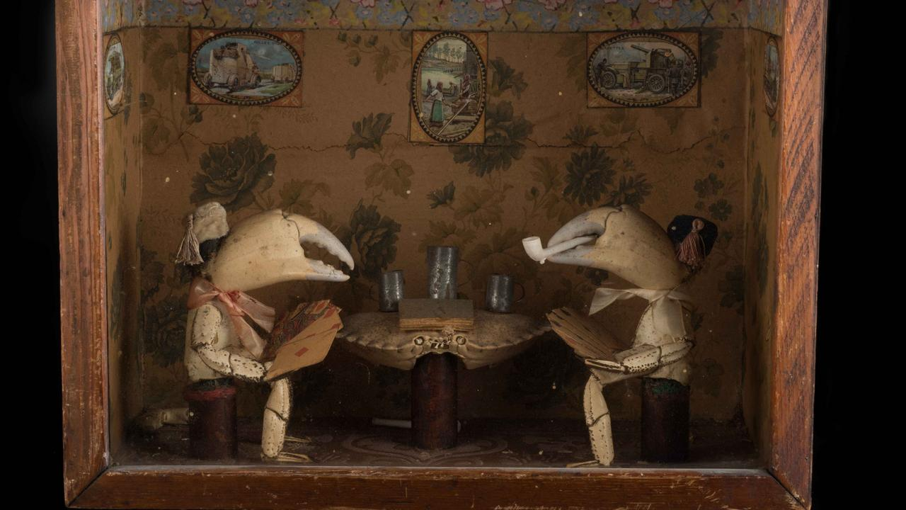 Perhaps not so much creepy as just plain weird. Picture: York Castle Museum