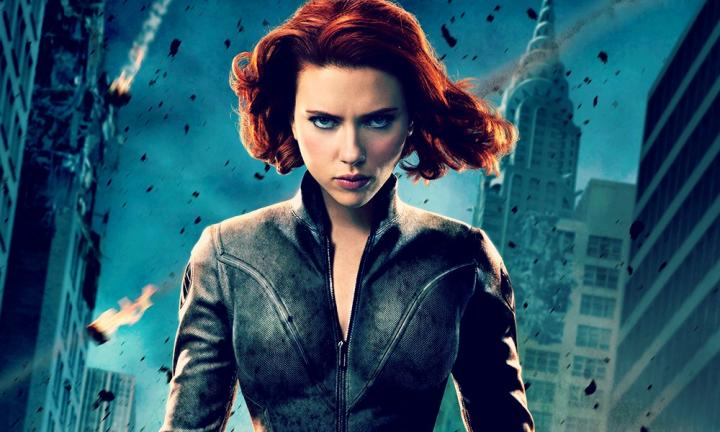 "NATASHA. Another Marvel superheroine with equally kick-ass real and character names, Natasha Romanova is Black Widow. This super-seductive Russian moniker ironically means ""birthday of the Lord"". Image: Marvel Studios"