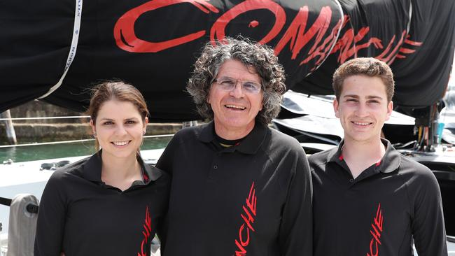 The Cooney family will team up for this year's Sydney to Hobart. Picture: Brett Costello