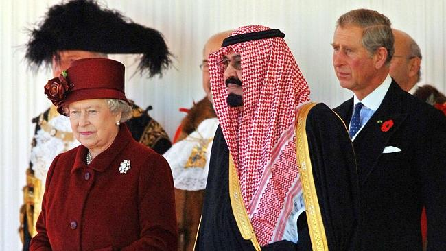 The Queen is now the oldest monarch in the world after the death of King of Saudi Arabia Abdullah at the age of 90. Picture: AFP Photo/FIONA HANSON/POOL