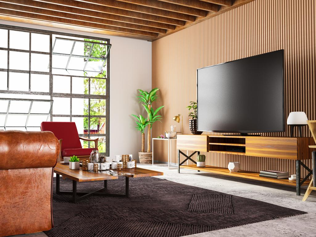 How big do you really need the television to be? Picture: iStock