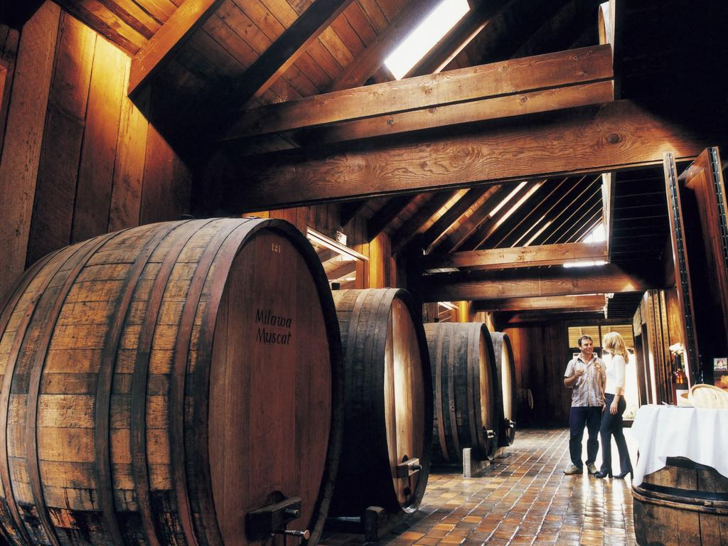 Renowned Brown Brothers winery, Milawa is well worth the visit. Picture: Supplied / Tourism Victoria