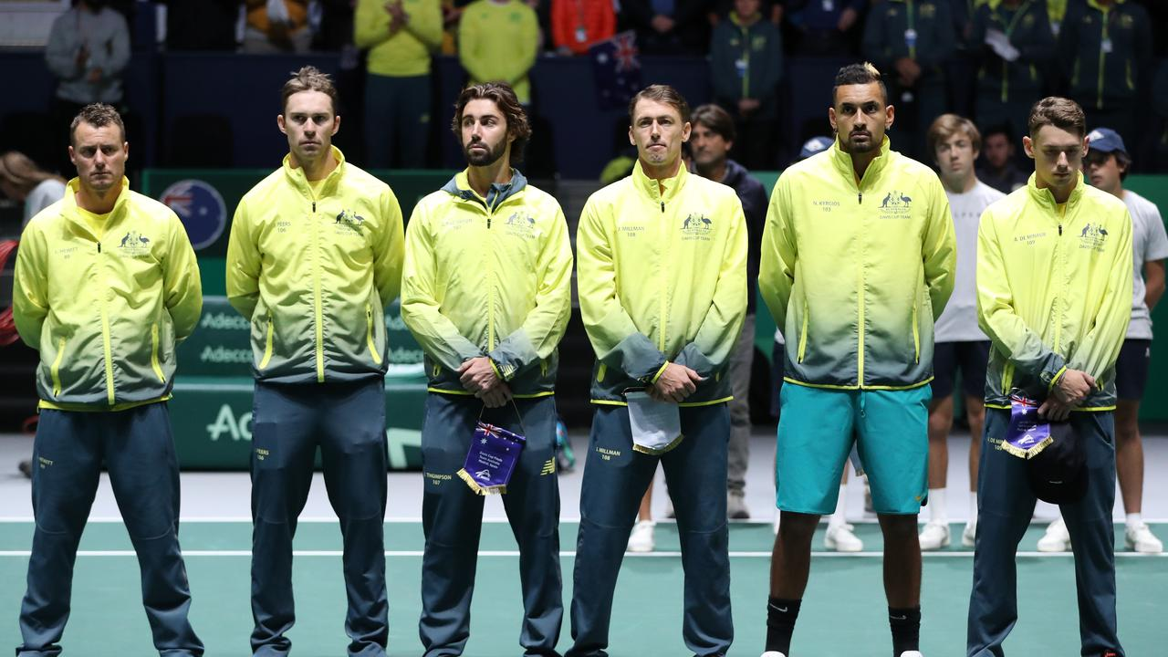 Australia's next opponent revealed ahead of 2020 Davis Cup qualifiers