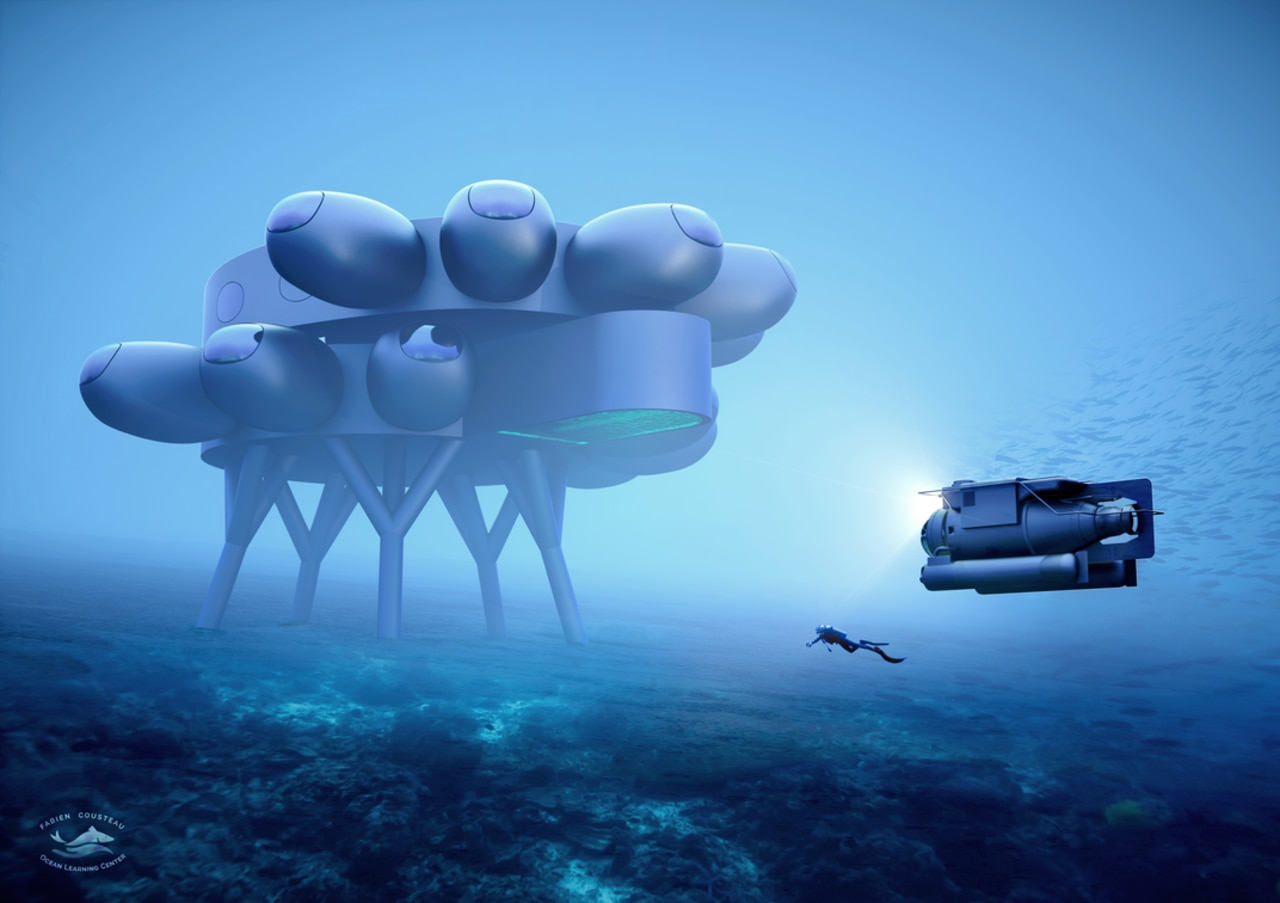 An illustration of how Proteus could look, as designed by Yves Béhar and fuseproject. Picture: fuseproject