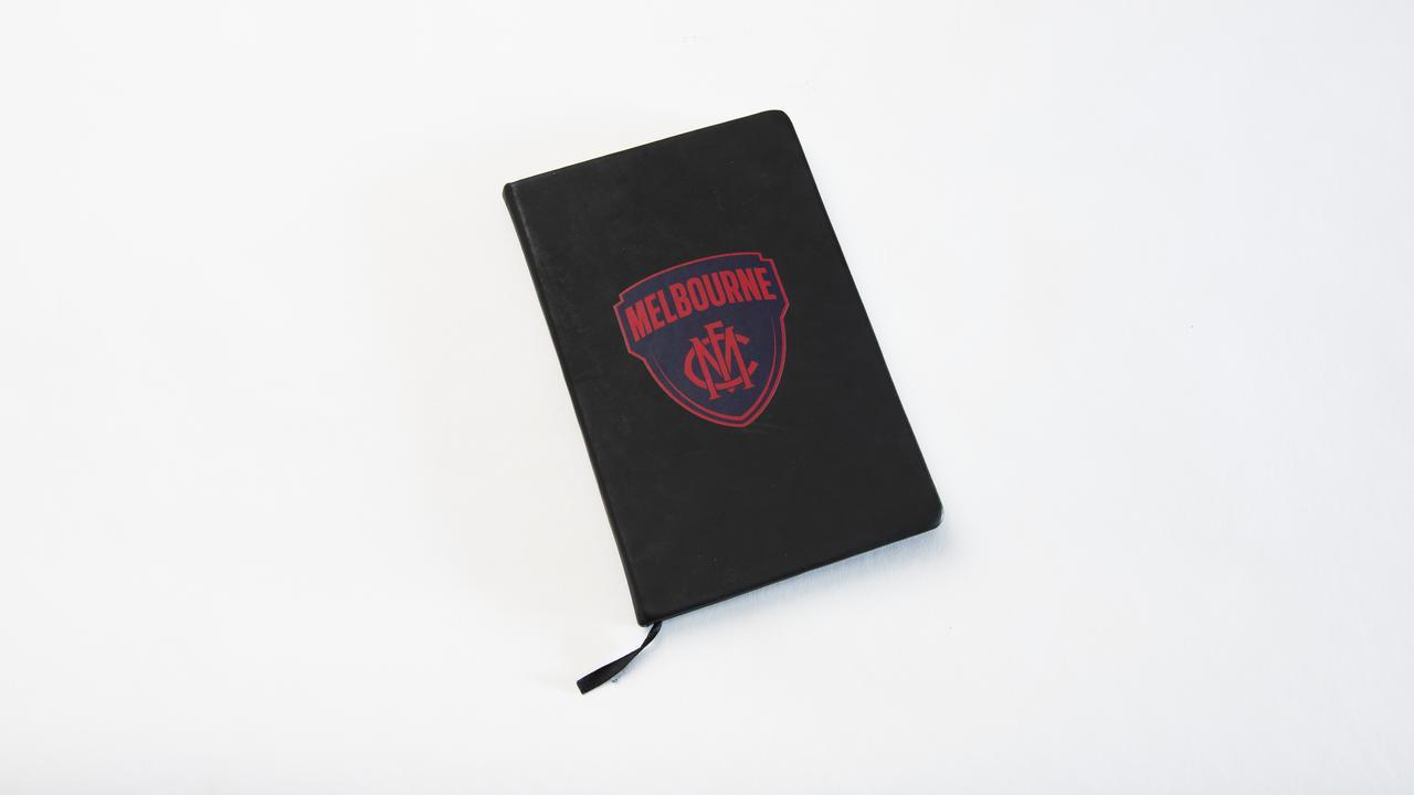 Stress buster: O'Dea's club diary.