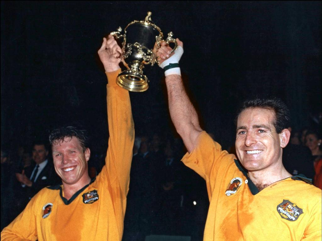 Nick Farr-Jones captained Australia during the 1991 Rugby World Cup.