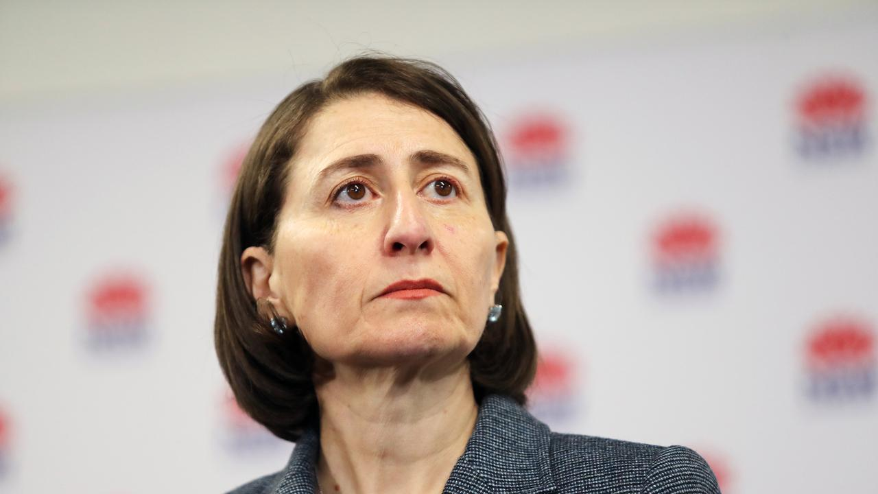 NSW Premier Gladys Berejiklian says she's 'extremely concerned' about every new case because she knows 'it doesn't take much to have this thing take off'. Picture: Richard Dobson