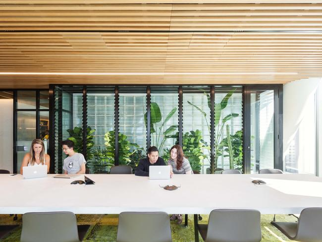 A comfortable boardroom makes staff and clients relax, the firm believes.