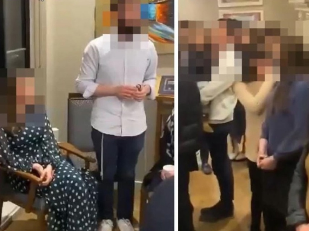An illegal engagement party at St Kilda in Melbourne sparked outrage.