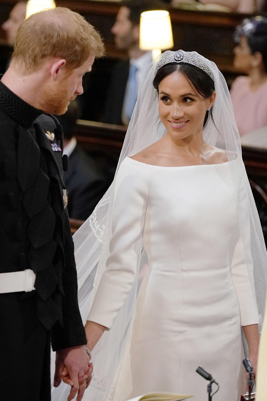 crown jewels all the jewellery meghan markle wore on her wedding day vogue australia all the jewellery meghan markle wore on