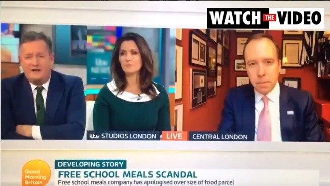Piers Morgan slams UK Health Secretary (Good Morning Britain)