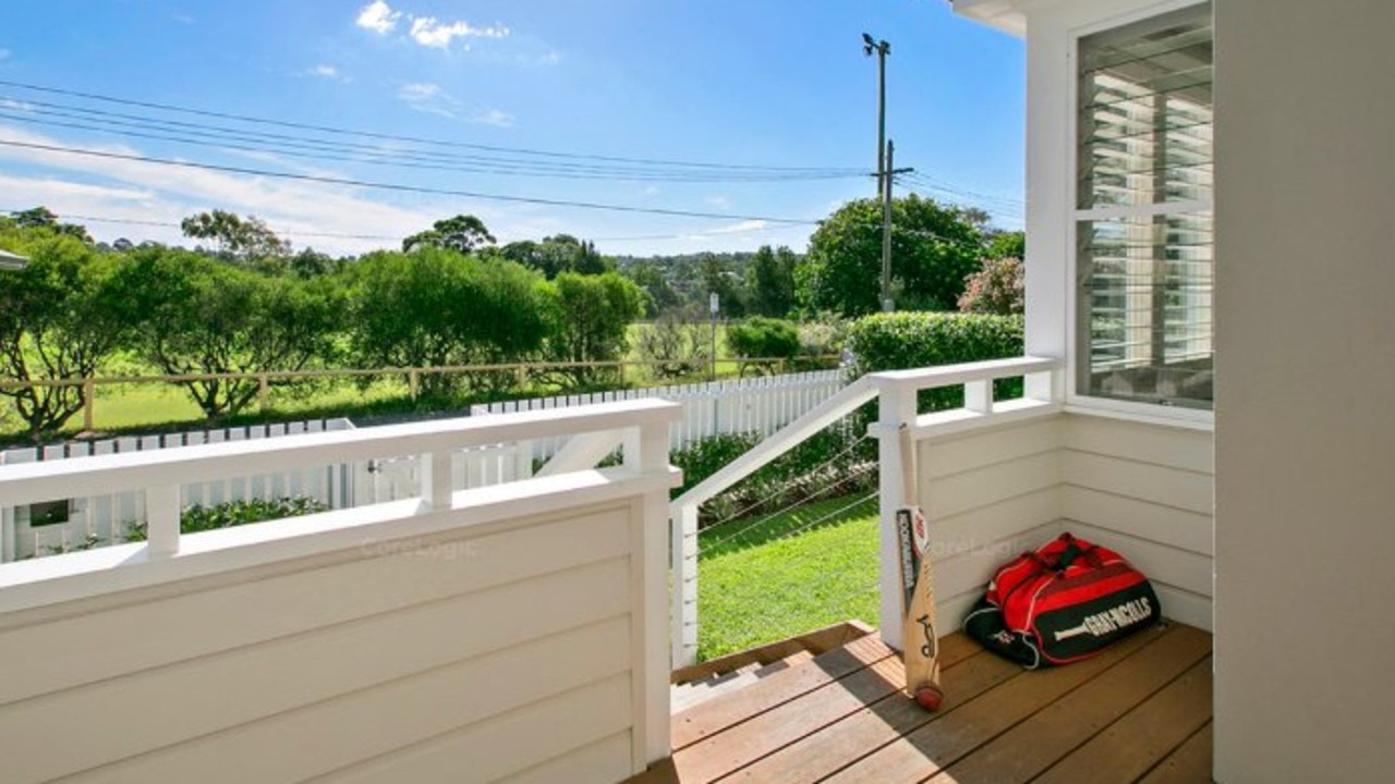 Kyle Daniels spoke with his mother for 20 minutes of the veranda of their northern beaches home before police arrived. Picture: Supplied
