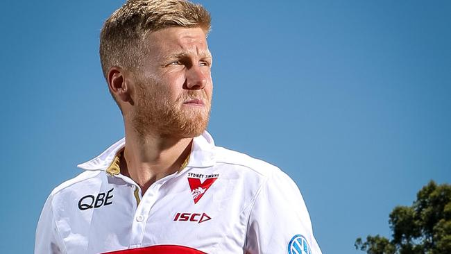 Dan Hannebery has given up alcohol over the off-season. Picture: Lindsay Moller