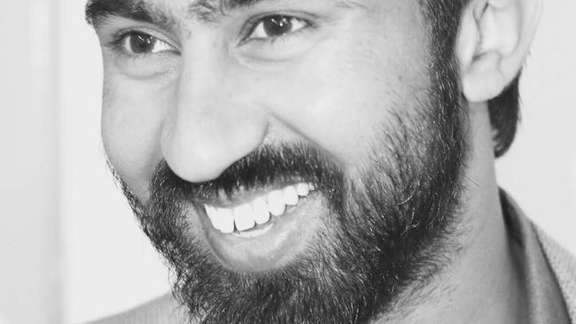 Manmeet Sharma died on Friday when he was set on fire on his Brisbane bus.