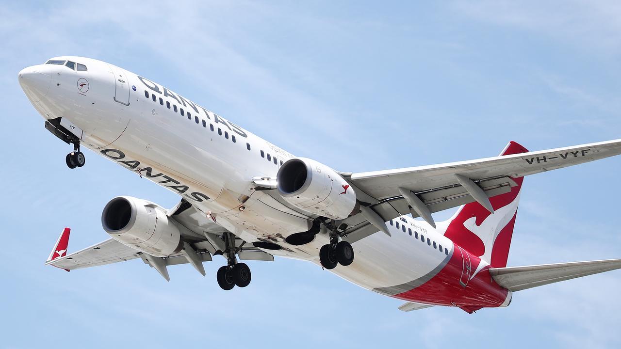 Qantas has celebrated its 100th anniversary. Picture: Brendan Radke