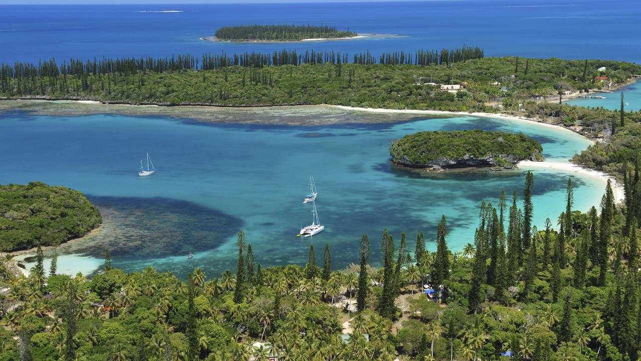 Isle of Pines makes for spectacular sailing. Picture: New Caledonia Tourism