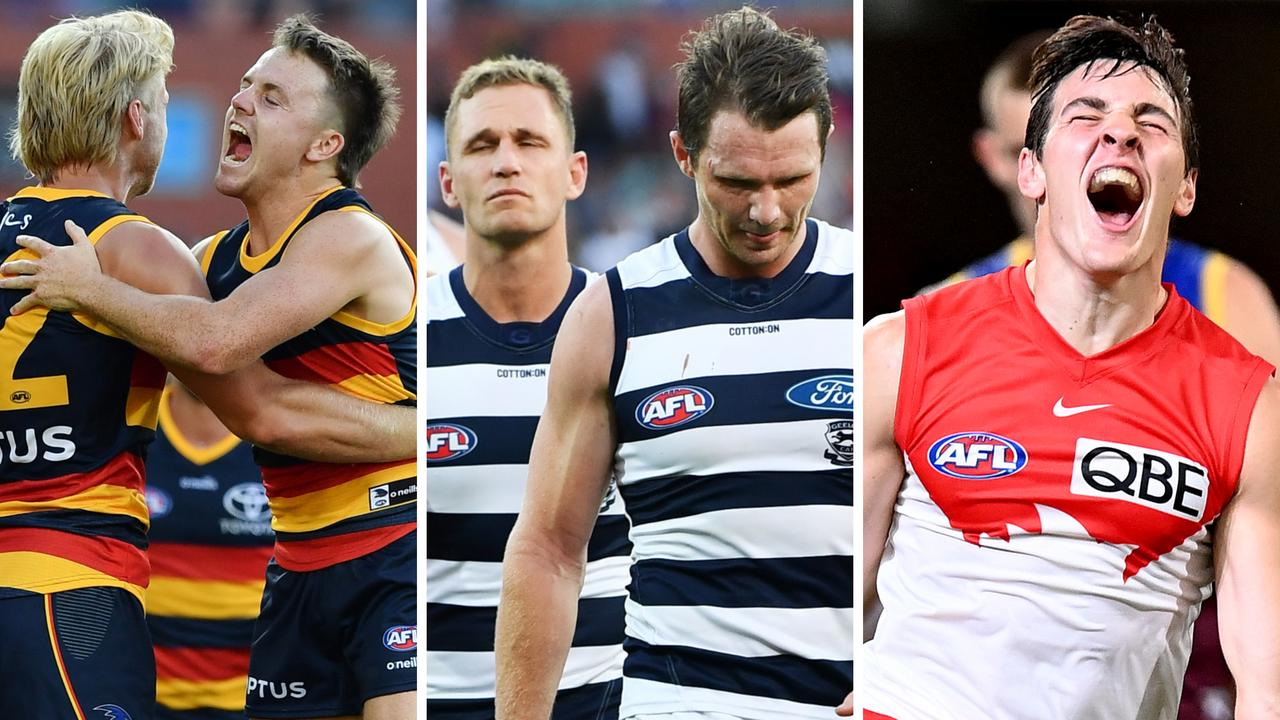 Every AFL club graded in our Round 1 Report Card.