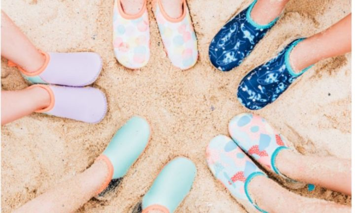 All of the best beach shoes for kids