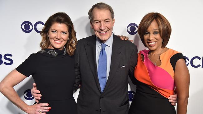 Things often got weirdly sexual on CBS This Morning. Picture: GETTY