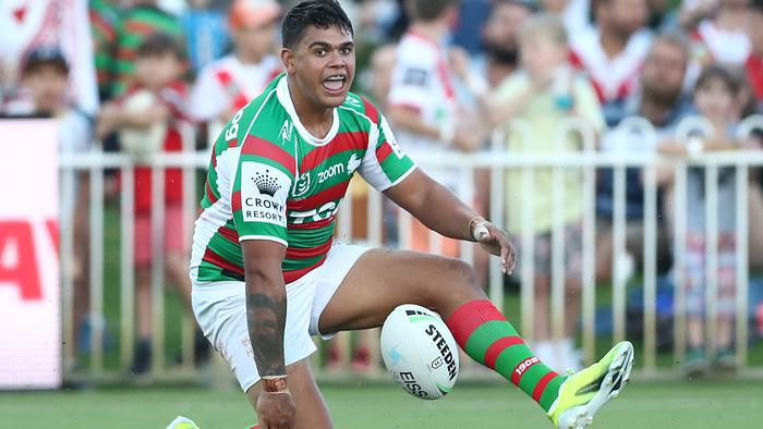 NRL Trial Match - Rabbitohs v Dragons