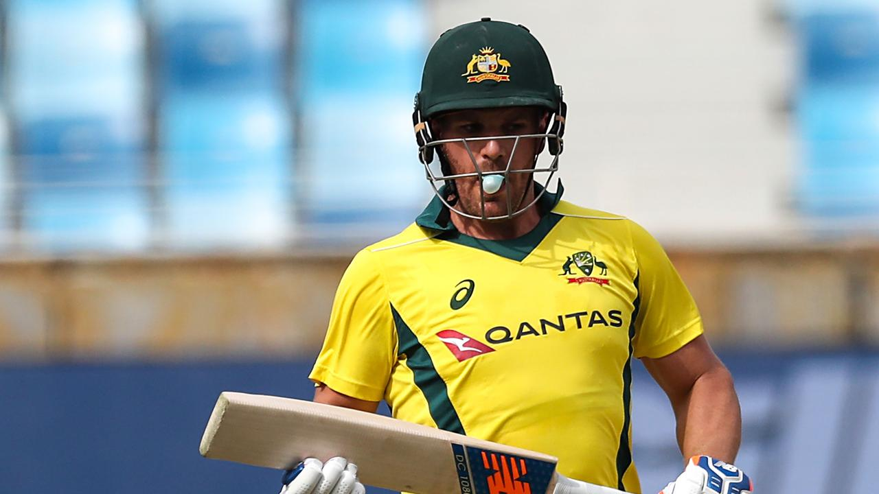 Aaron Finch feared for his World Cup spot.
