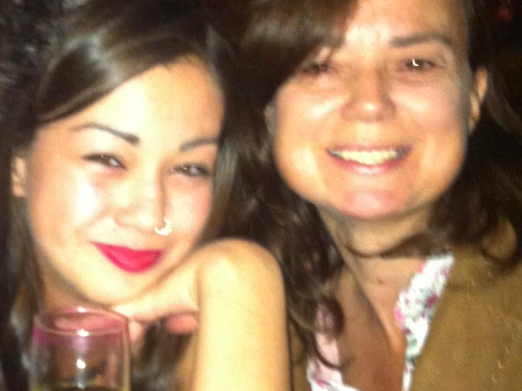 Rosie, pictured with Mia on her 18th birthday, says she now tries to live her life for her daughter.