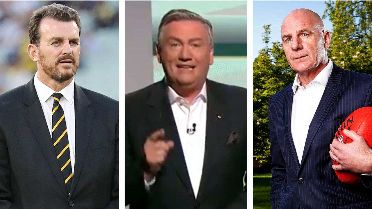 Eddie McGuire's plan for Tasmania and the AFL.