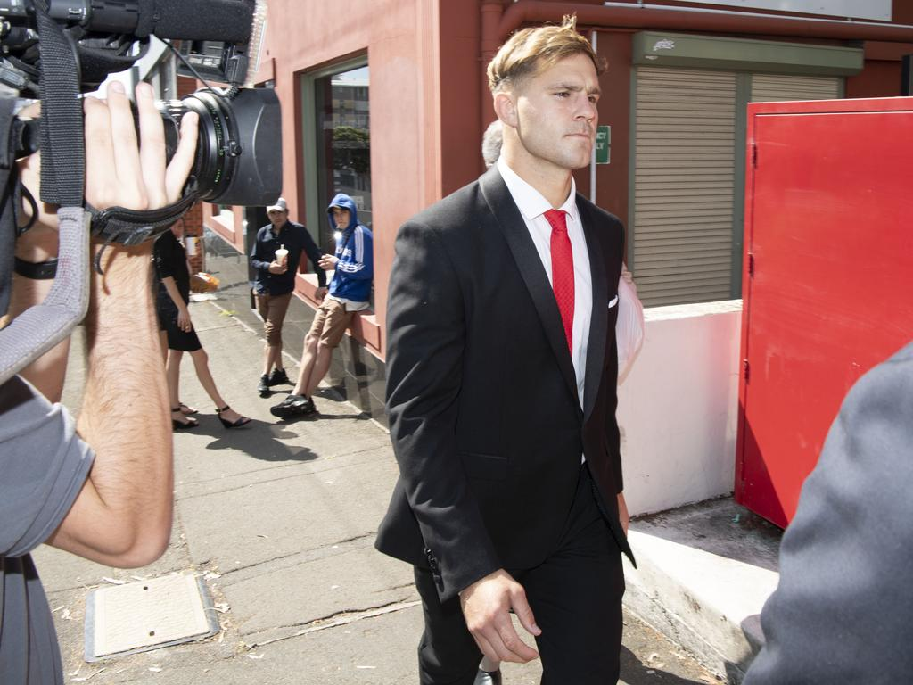 Jack de Belin has been accused of raping a woman inside a North Wollongong unit in late 2018. Picture: NCA NewsWire/Simon Bullard