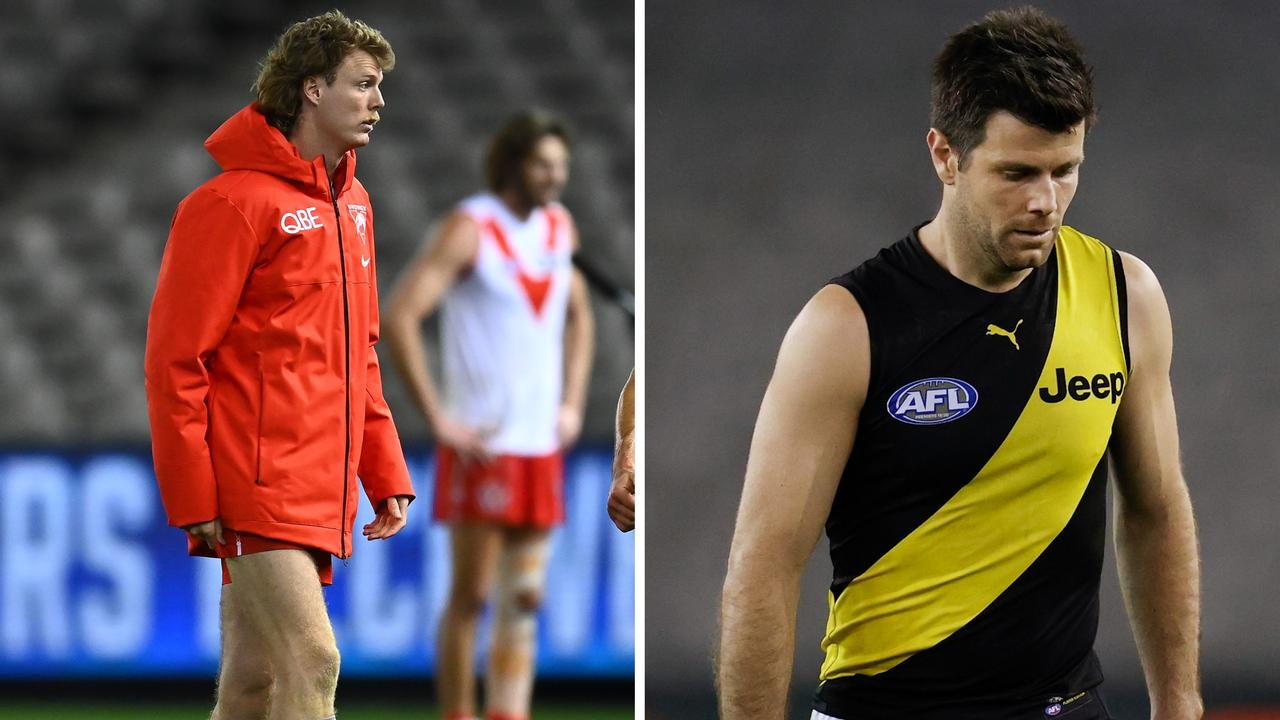 Get the latest AFL injury news ahead of the finals.