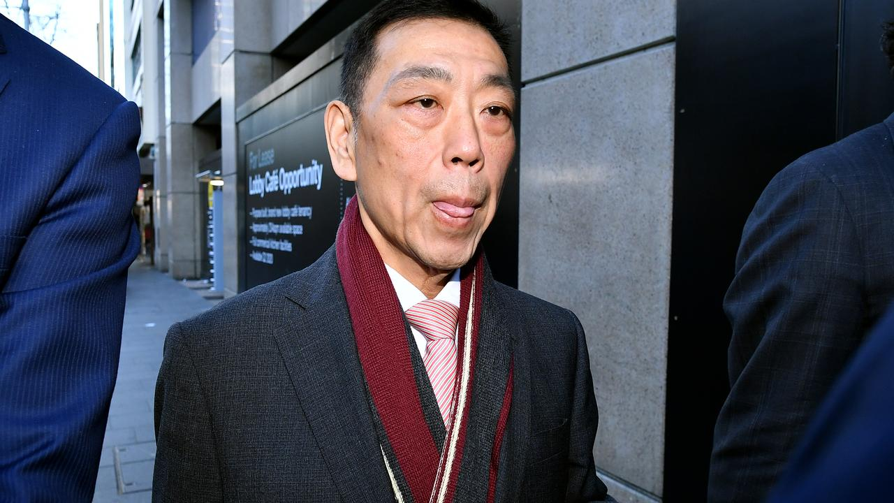 Former Labor MP Ernest Wong. Picture: AAP