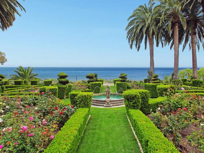 There are 6.3 acres of grounds including a rose garden with more than 1000 flower bushes. Picture: prestige-mls.com