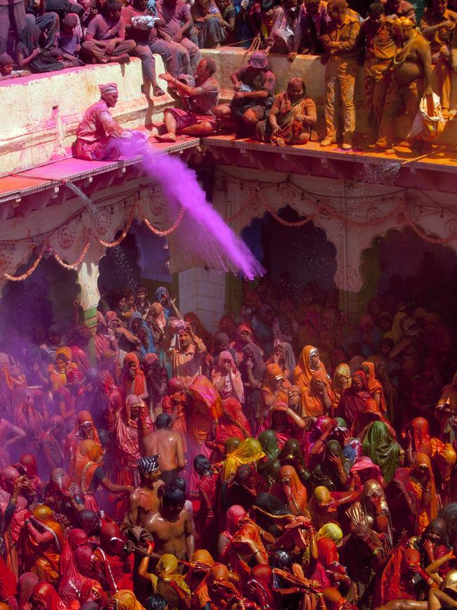HOLI FESTIVAL: India is at its most colourful during this festival, held in March to welcome spring. The ancient Hindu celebration has been adopted by other world cities, but the authentic event in India remains a major tourist drawcard. Celebrations kick off on Holi eve with bonfires, dancing and music, before the full explosion of colour and water hits. This year, My Adventure Travel is running an exclusive Holi tour that lets visitors spend the festival at the tour leader's family home in Jaipur.  myadventuretravel.com