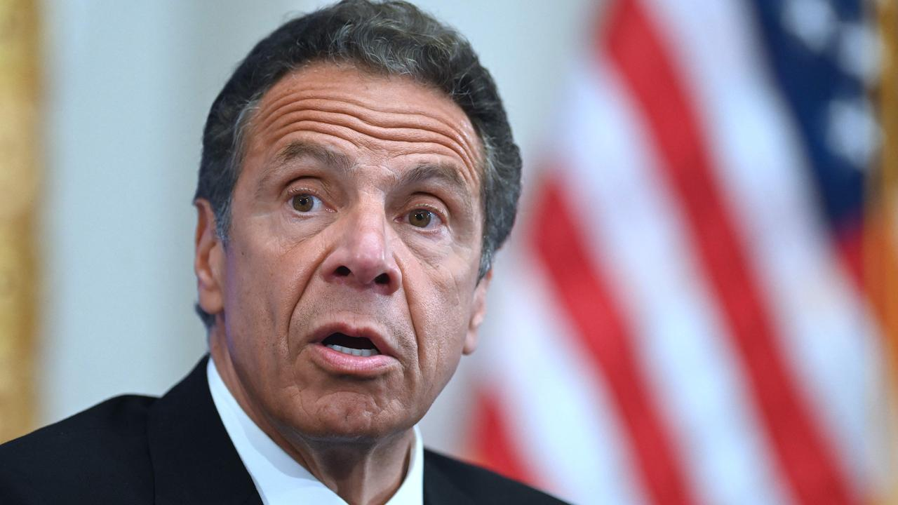 New York Governor Andrew Cuomo. Picture: Johannes Eisele/AFP