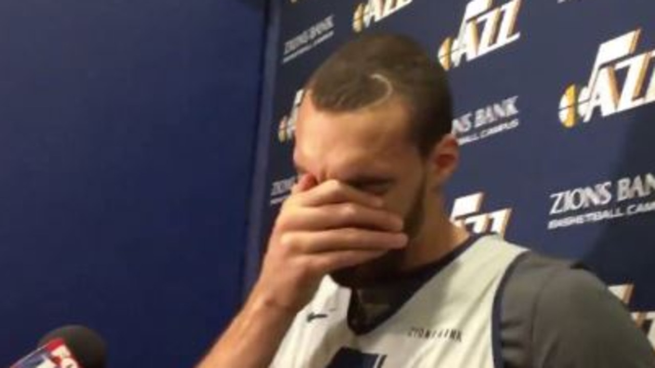 Rudy Gobert in tears over All-Star omission.