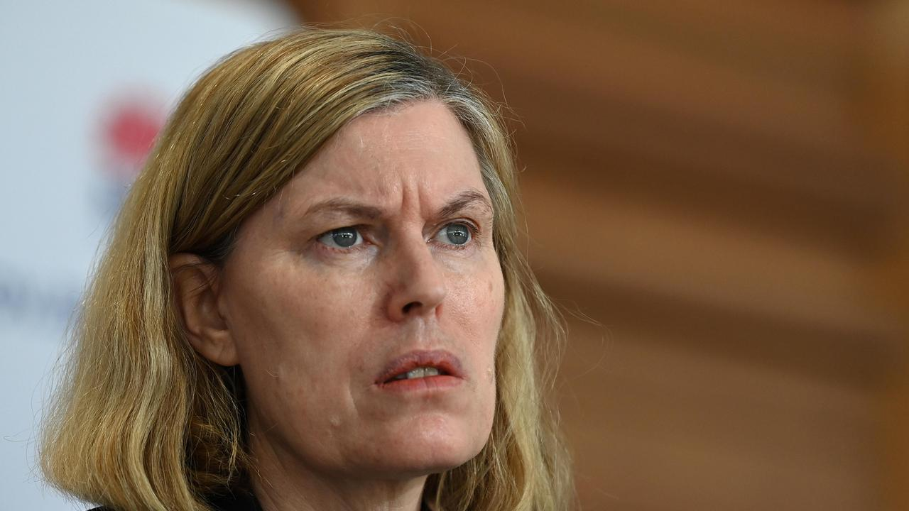NSW chief health officer Kerry Chant urged Sydneysiders to reduce shopping trips. Picture: NCA NewsWire/Bianca De Marchi