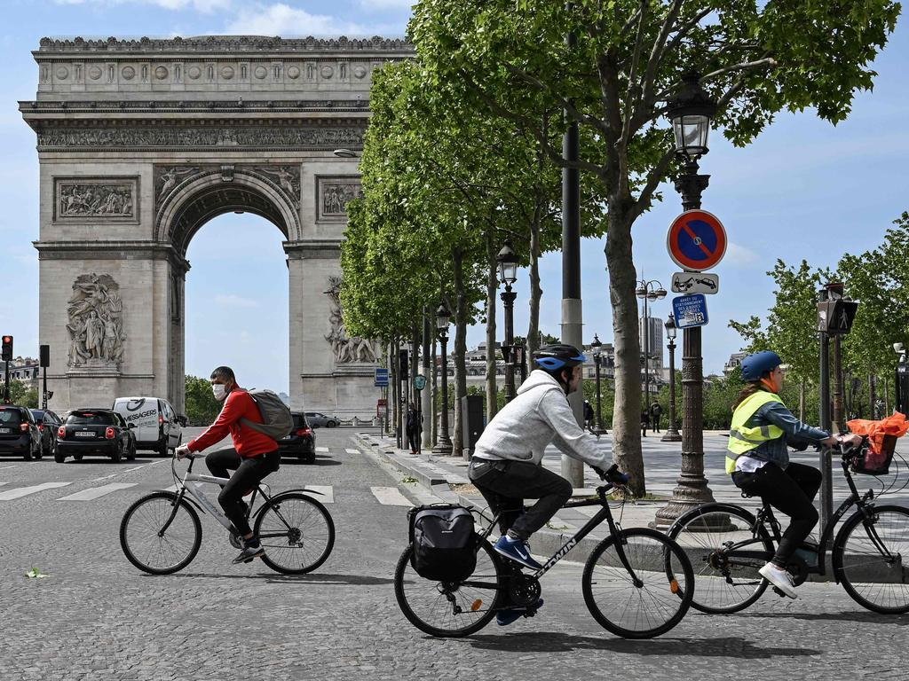 European Union members will vary in how and when they reopen borders and revive tourism. Picture: Bertrand Guay/AFP