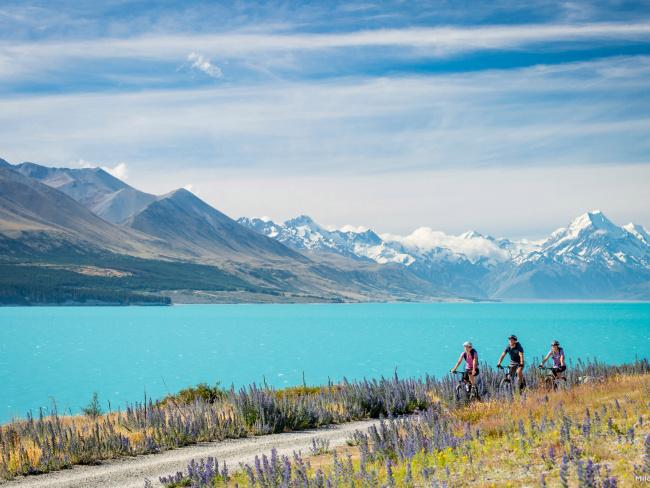 The Hobbit: Lake Pukaki, New ZealandFor the role of Lake Town in The Hobbit director Sir Peter Jackson certainly had a lot of choice in the rainy land of New Zealand. However, you can't really go past the stunning turquoise and towering mountainscape of Lake Pukaki, in the Mackenzie Basin.Picture: Miles Hold