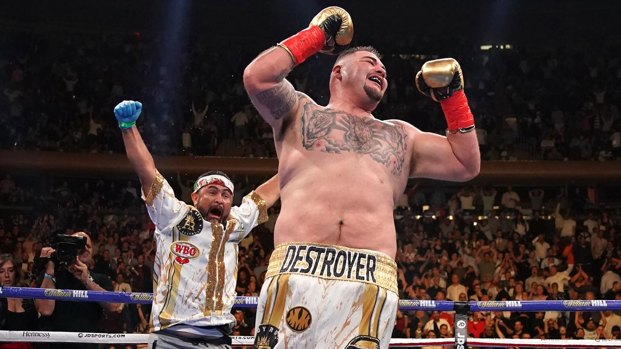 Andy Ruiz Jr. is grouchy when he's hungry and eats tacos every week. He is proof 'bodies don't win fights'