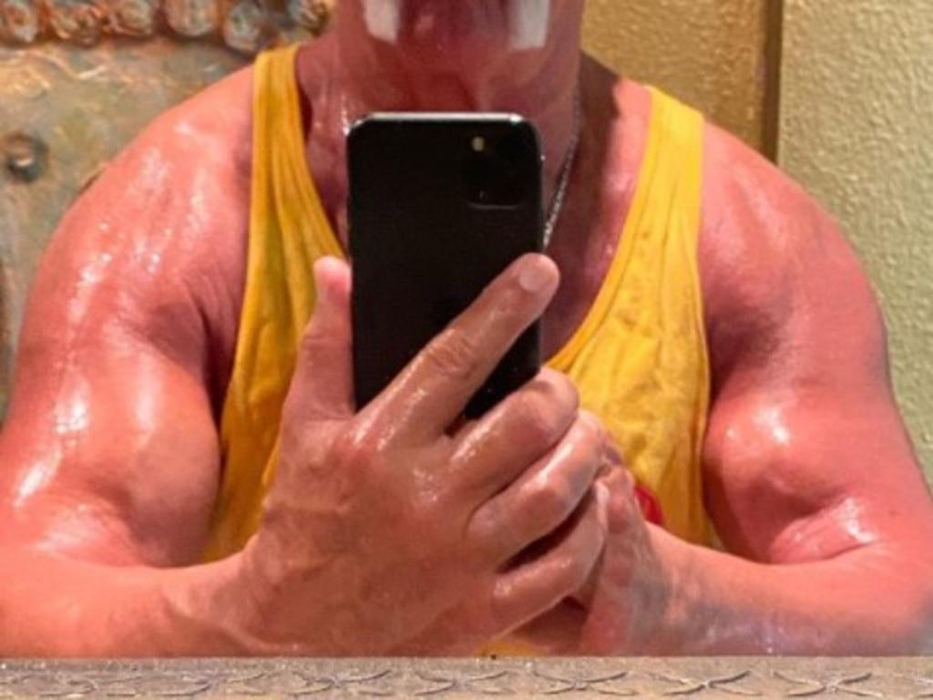 Hulk Hogan has got to be inhuman.