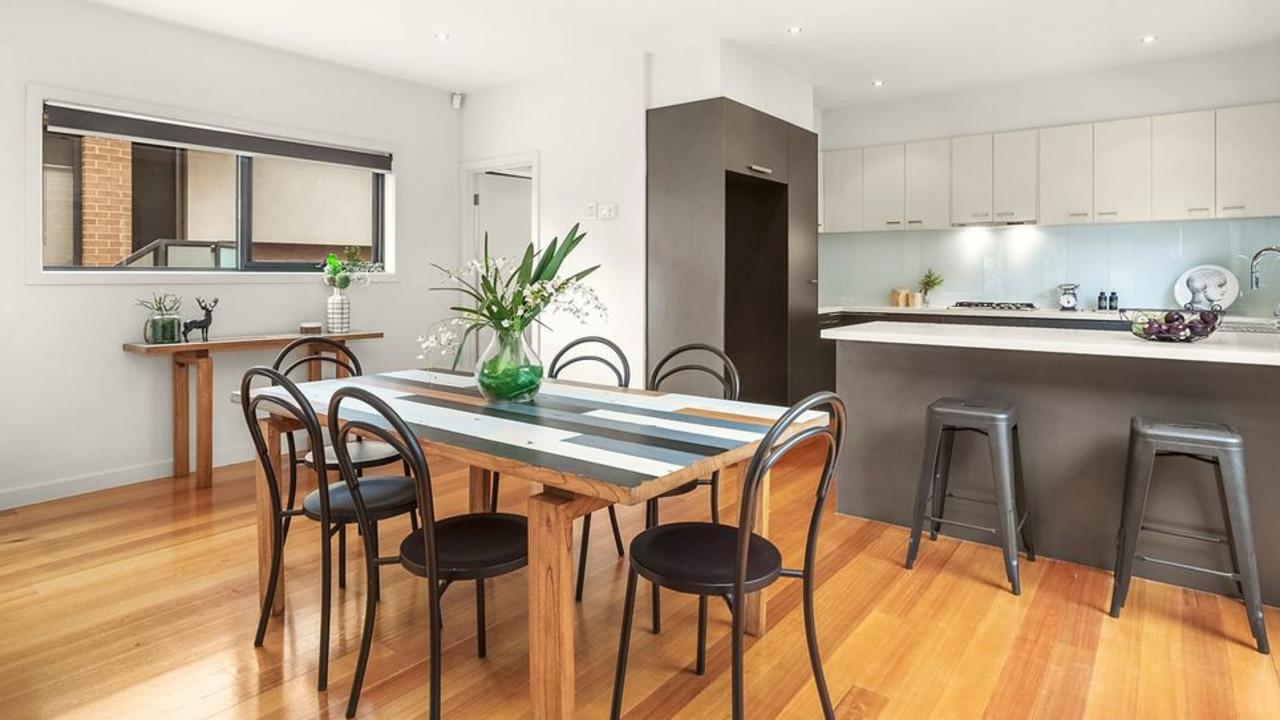 6/1-3 Ida St, Coburg North has won buyer interest with its modern feel.