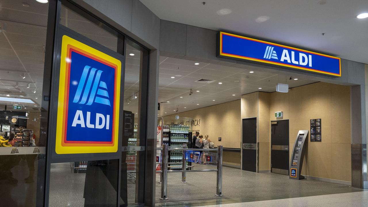 Aldi Corner Store will be very different to a standard store (above). Picture: Matthew Vasilescu/AAP