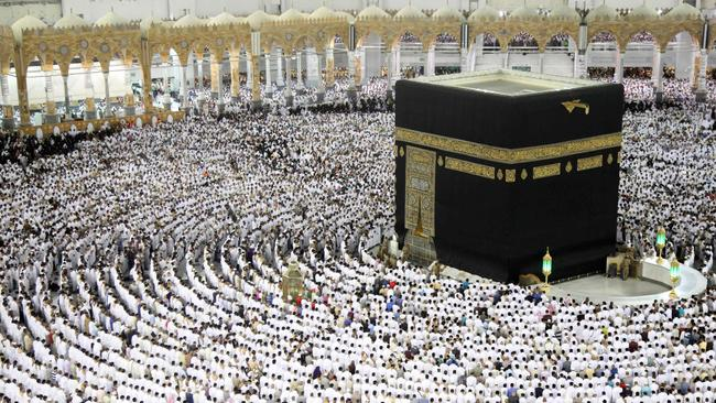 A suicide bomber has blown himself up near the Grand Mosque in Saudi Arabia's holy city of Mecca. AFP