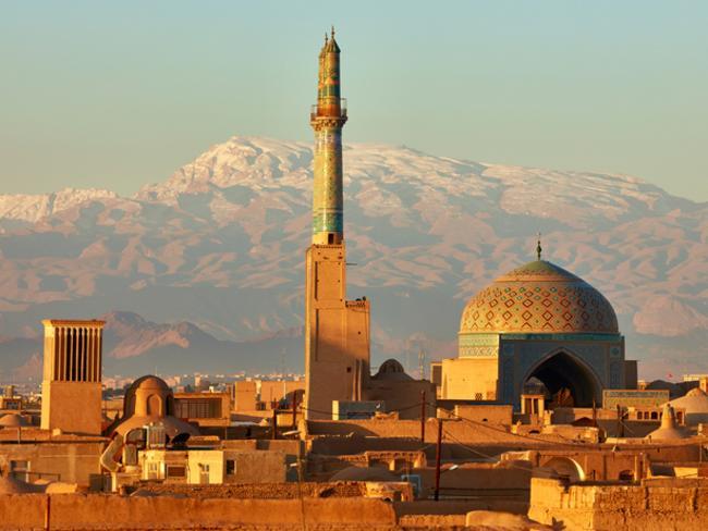 Ancient city of Yazd, Iran.