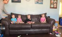Quadruplets hugging video has the Internet losing its mind