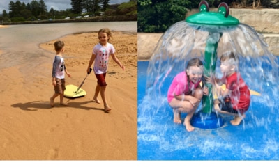 Caravan parks are perfect for families this summer